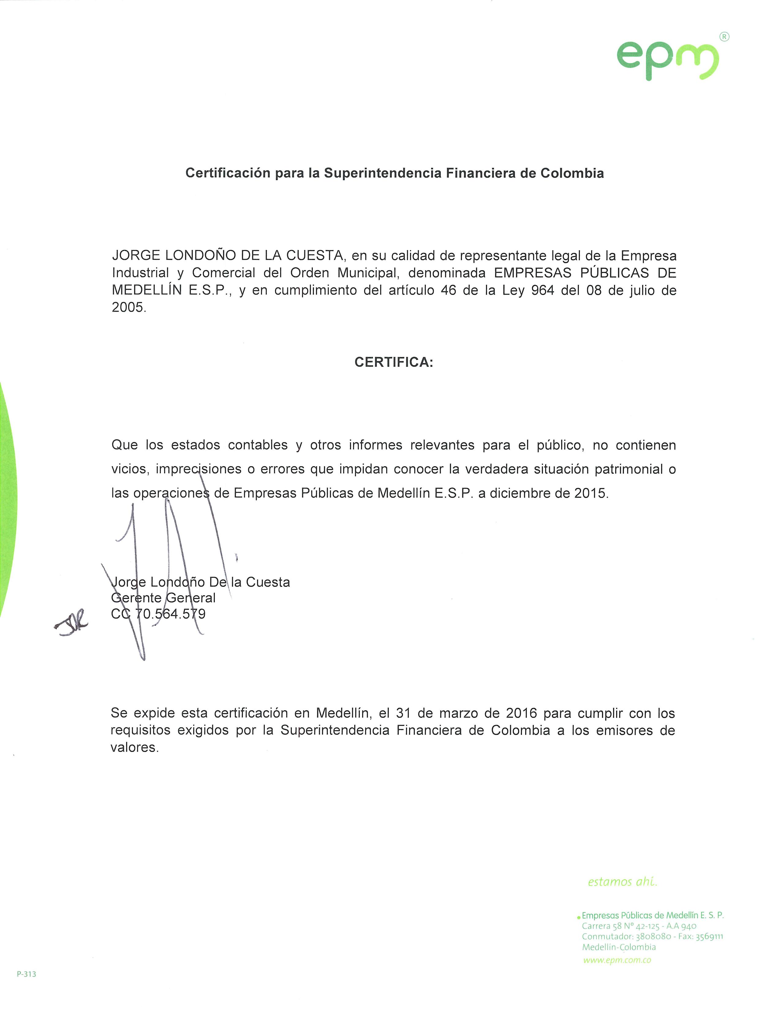 certificado superintendencia